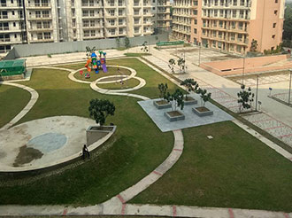 Blossom Zest 1 BHK Central Landscaping || Logix Group