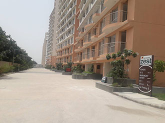 Blossom Zest 1 BHK Tower Entry Landscaping || Logix Group